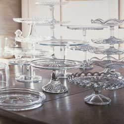 Glass-cakestands