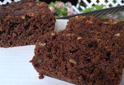 Beet brownie bread