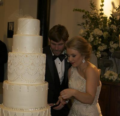 Cooper Cutting the cake