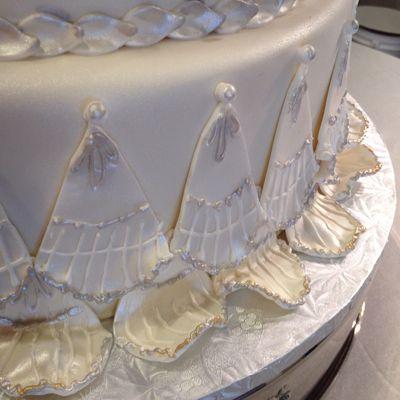 Cooper cake closeup